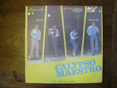 lp disco vinilo pasta mighty sparrow calypso maestro 1974