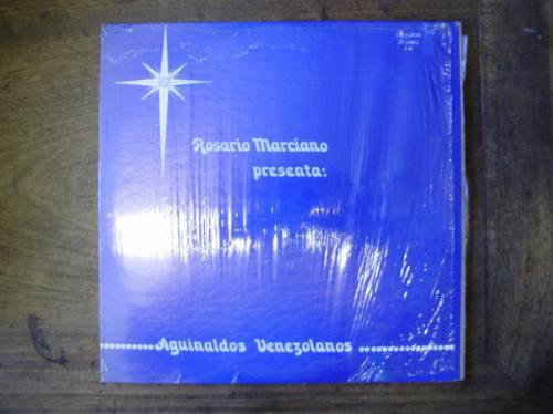 lp disco vinilo rosario marciano aguinaldos venezolanos