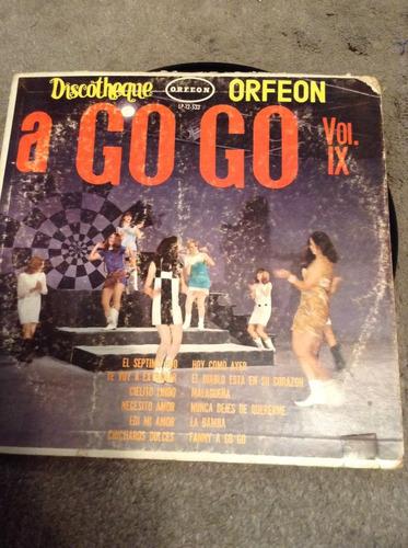 lp discotheque a go go