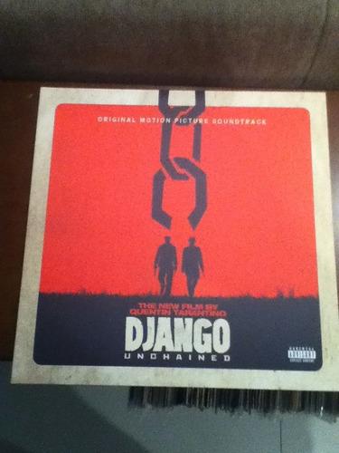 lp django livre - trilha sonora - vinil branco - importado