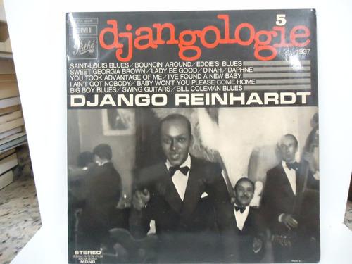 lp django reinhardt -djangologie vol.5-selo pathé-importado