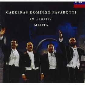Lp Domingo Carreras Pavarotti Zehta Three Tenors In Concert.