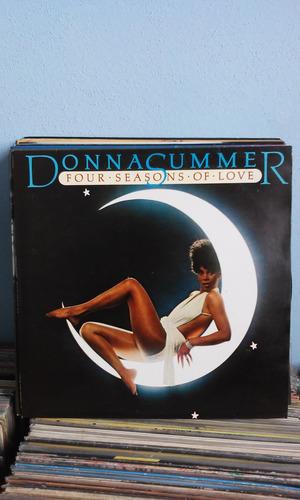 lp donna summer four seasons of love 1976 c/encarte