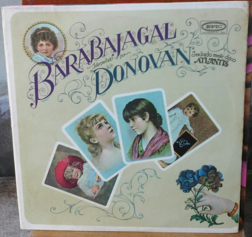 lp donovan barabajagal incluindo atlantis 1969