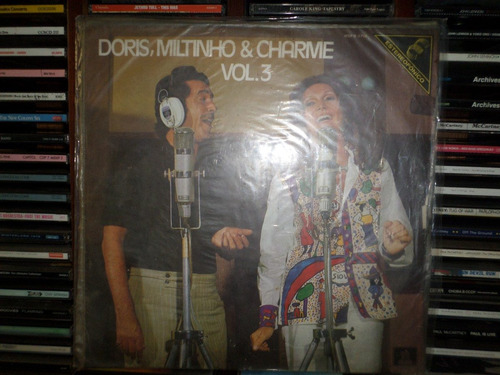 lp dóris, miltinho & charme vol. 3