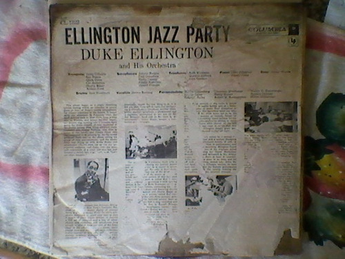 lp duke ellington - jazz party imp