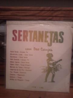 lp duo carajas sertanejas 1960  1ª edição  -