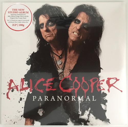 lp duplo - alice cooper paranormal (2017) 180 gramas lacrado