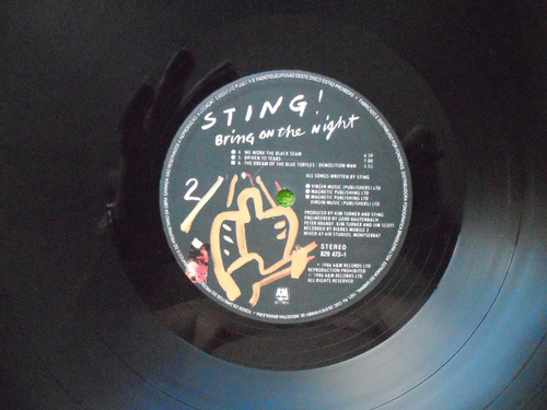 lp duplos sting p/1986 bring on the night