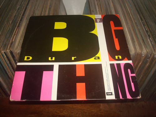 lp duran duran - big think - capa dupla