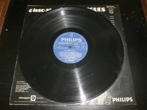 lp é isso ai... jair rodrigues, disco vinil, ano 1971
