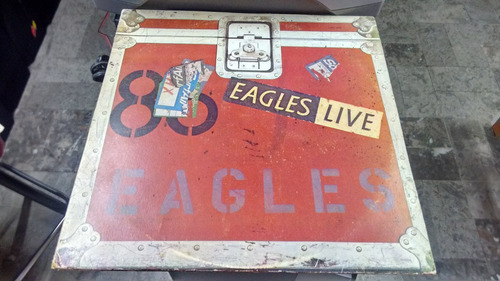 lp eagles live! en formato acetato,long play