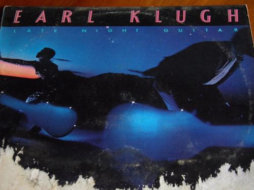 lp earl klugh late night guitar importado