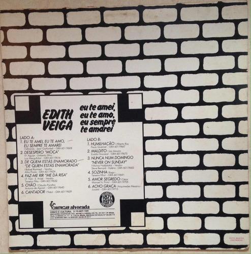 lp edith veiga (1977)