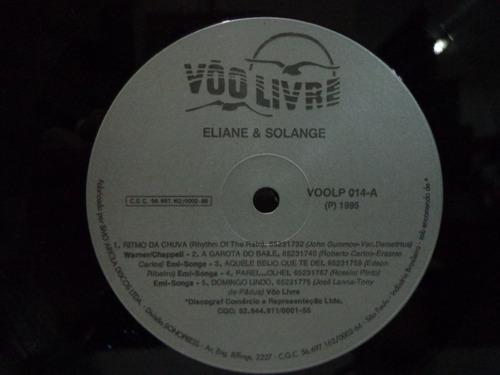 lp eliane & solange-gravadora vôo livre-1995