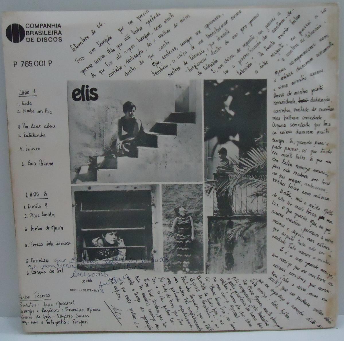 Resultado de imagem para lp de elis regina de 1966