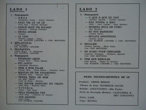 lp elizete cardoso e ciro monteiro - a bossa eterna  - 1991