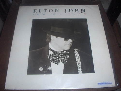 lp elton john ice on fire 1985