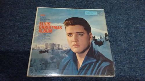 lp elvis presley christmas album formato acetato,long play