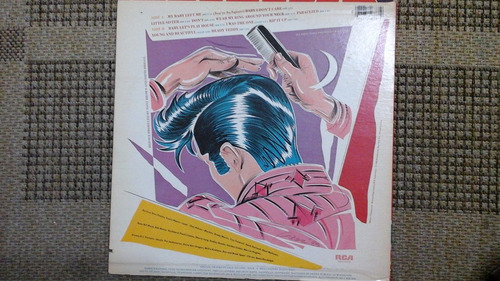lp- -elvis presley -i was the one-importado-raro