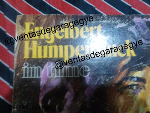 lp - engelbert humperdinck - in time
