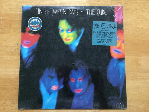lp ep original the cure in between days extended 1985