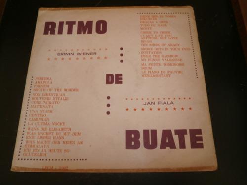 lp erwin wiener - ritmo de buate, disco vinil