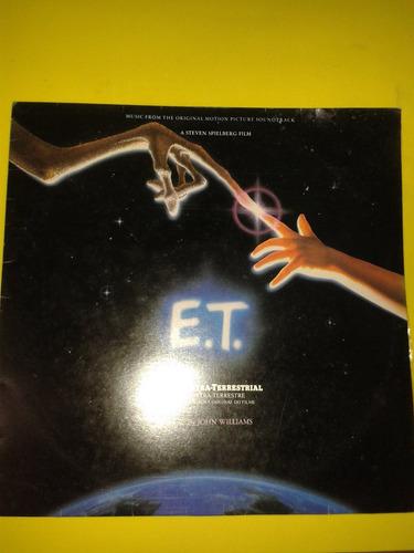 lp e.t. o extraterrestre trilha sonora do filme disco vinil