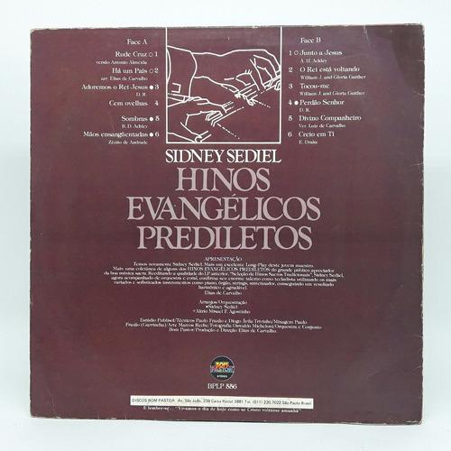 lp evangélico sidney sediel hinos evangélicos disco de vinil