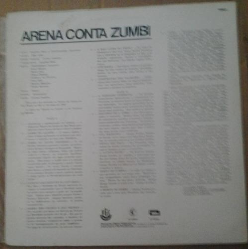 lp exc arena conta zumbi com encarte 1989