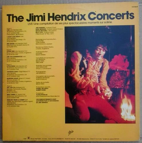 lp exc duplo jimi hendrix concerts 1982