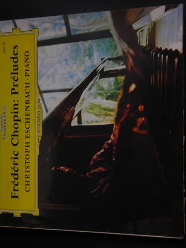 lp f chopin preludes piano import alemania