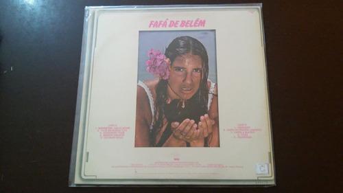 lp fafá de belém (1983). com encarte.