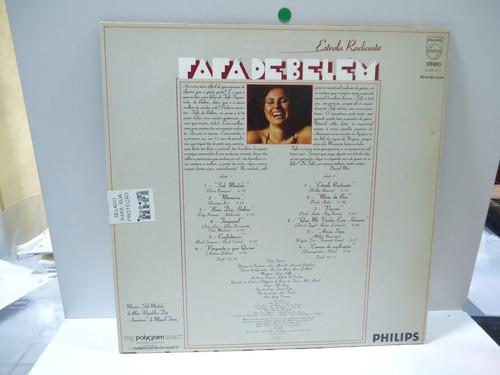 lp fafá de belém estrela radiante philips 1979 encarte