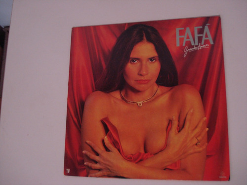 lp fafá de belém - grandes amores (1987) com encarte