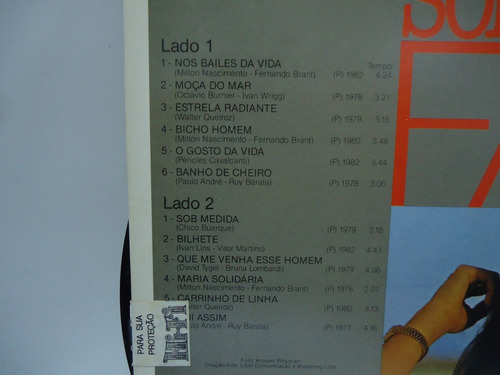 lp fafá de belém sob medida philips 1986 by trekus vintage