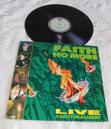 lp faith no more live at the brixton academy 1991 london nac