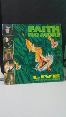 lp - faith no more - live at  the brixton academy