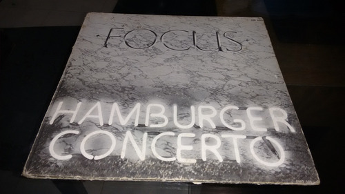 lp focus hamburger concerto en formato acetato,long play