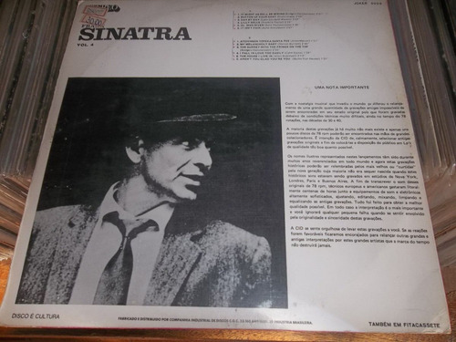 lp frank sinatra volume 4