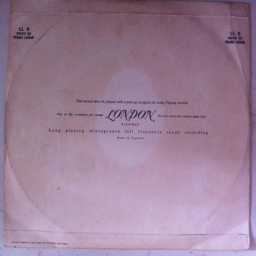 lp franz lehart antigo 1949 importado orquestra jazz mt bom