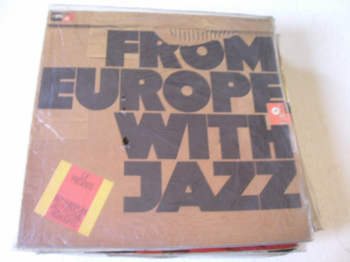 lp from europe with jazz - importado - 1971