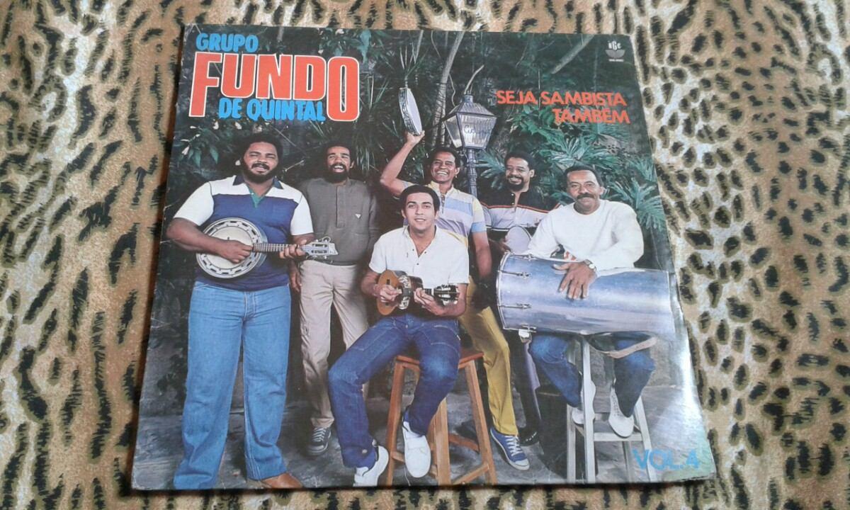 44c03897a7 Lp Fundo De Quintal - Seja Sambista Também (1994) - R  20
