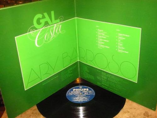 lp gal costa - aquarela do brasil (1980) canta ary barroso