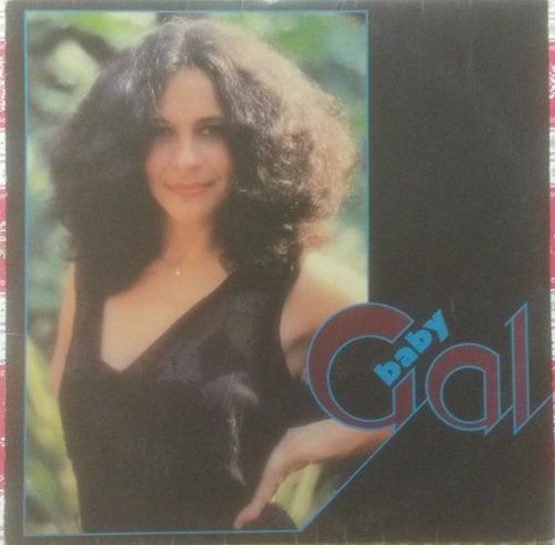 lp gal costa - baby gal (1983) com encarte