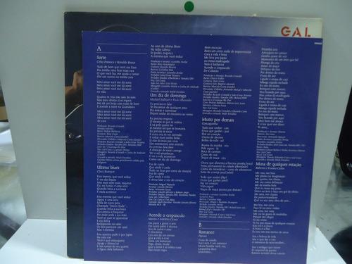 lp gal costa bem bom rca 1985 capa dupla encarte
