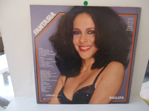lp gal costa fantasia philips 1981 encarte by trekus vintage