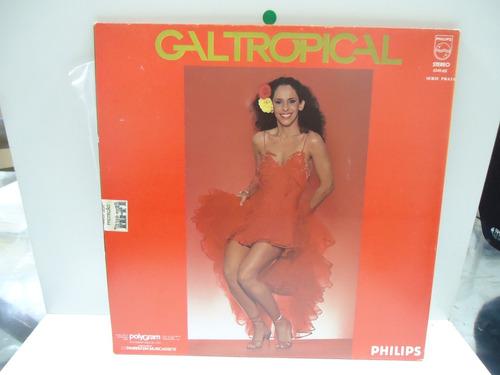 lp gal costa gal tropical philips 1979 capa dupla encarte