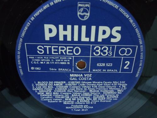 lp gal costa minha voz philips 1982 encarte trekus vintage