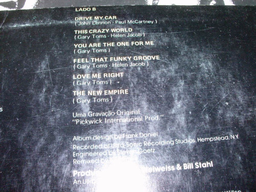 lp gary toms empire blow your whistle